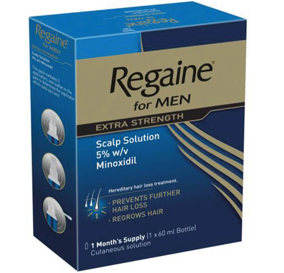 REGAINE® for Men Hair Loss Solution Pack