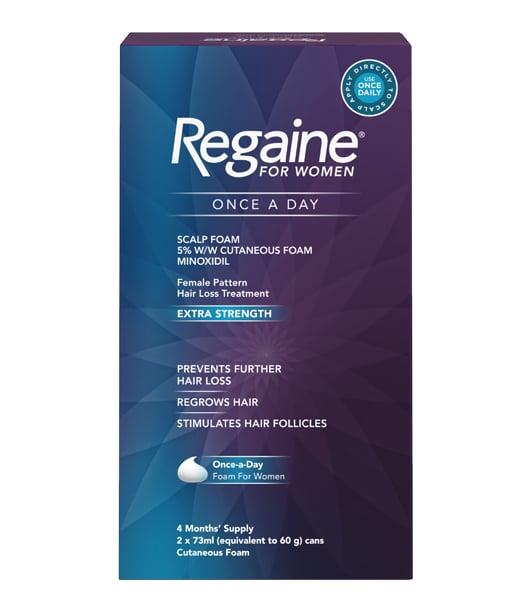 Regaine for women foam